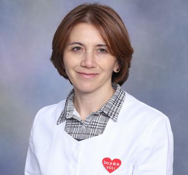 Kardiolog Novi Sad Dr med. Milena Mirković Pokrajac Subspecijalista kardiolog